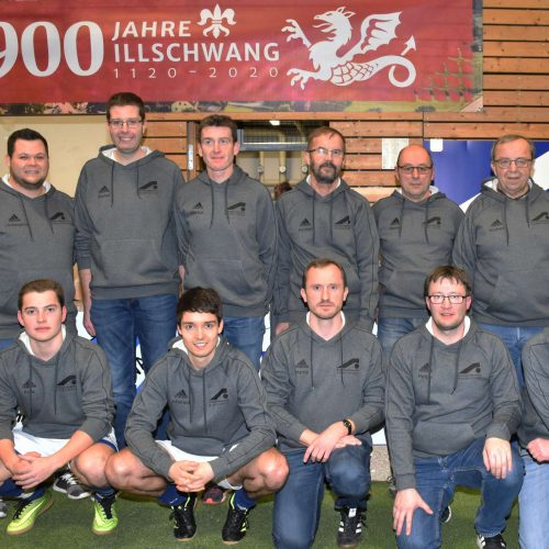 Hallenmaster Team neue Kleidung 2020
