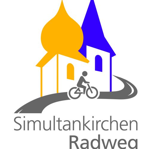 Logo zum simultanen Kirchenradweg 2021